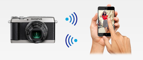 Easy Sharing with Built-in Wi-Fi